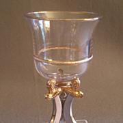 "Shriners/Masonic Syria Temple ""1900 Washington DC "" Souvenir Wine Glass"