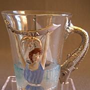 "Shriners/Masonic Syria Temple ""1904 Atlantic City"" Souvenir Hot Toddy Cup"