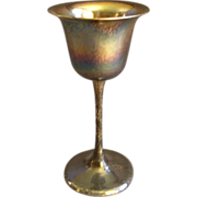 Kalo Silver Studio Chicago - Hand Wrought Sterling Silver Wine Glass