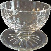 Set of 2 Waterford Crystal 'Lismore' Pattern Footed Fruit/Dessert Bowls