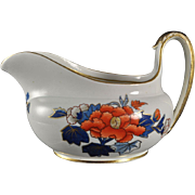 Hand Painted Wedgwood Bone China Imari Gravy Boat 19th C