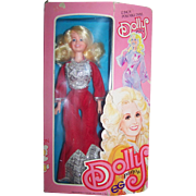 Vintage Dolly Parton Doll Original Box