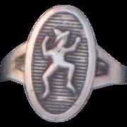 REDUCED Vintage Sterling Silver Ring Adjustable
