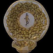 Vintage Tin  Mr. Peanut  Planter's Peanut Snack Set
