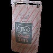 Vintage Advertising Seed Sack
