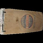 Vintage Advertising Seed Corn Sack