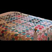 Vintage Multi-colored Quilt