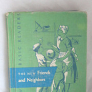REDUCED Vintage 1956 Dick and Jane Reader