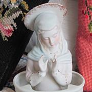 Vintage Porcelain Madonna Excellent !