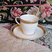 Vintage Minton Porcelain Cup And Saucer