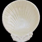 Vintage Belleek Shell Disk