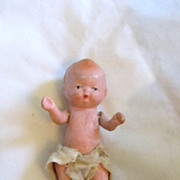 Vintage Japanese Bisque Baby Doll All Original ADORABLE !