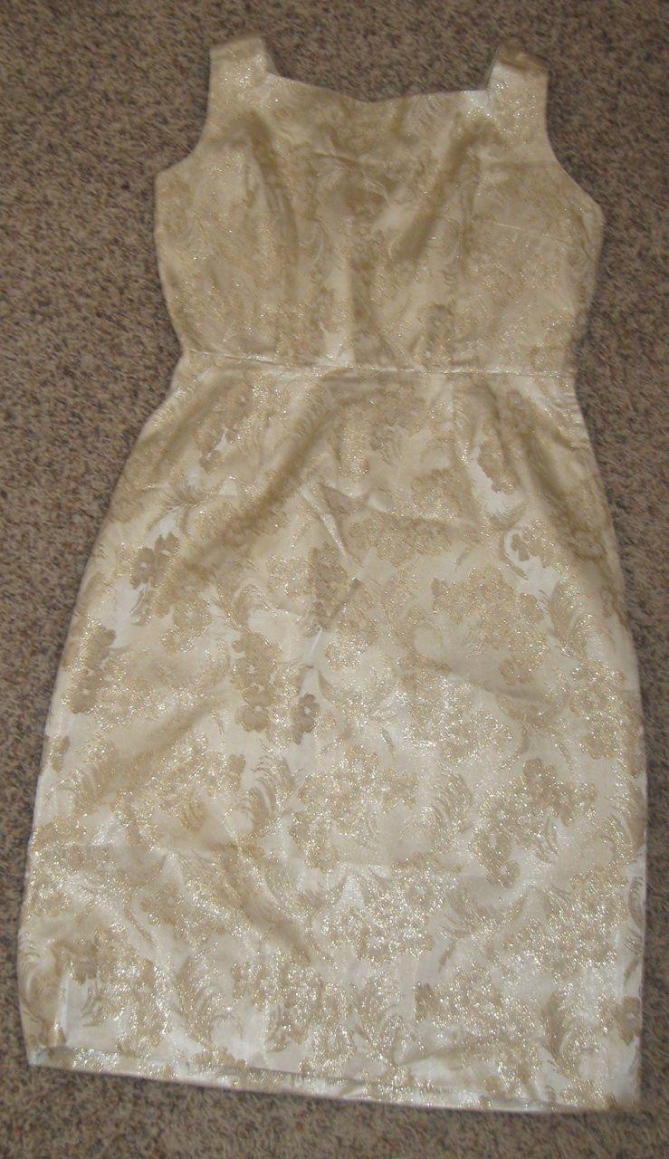 Vintage 1960's Handmade Wiggle Dress AMAZING! So Marilyn