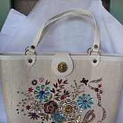 Vintage Enid Collins Style Purse Oh So Sixties !