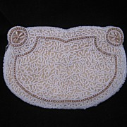 Wonderful Vintage Heavily Beaded French  Evening Bag / Purse BEAUTIFUL!
