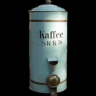 European Coffee Bin