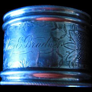 Victorian Style Napkin Ring