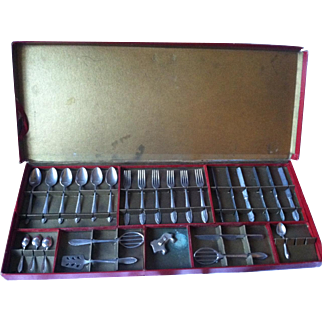 Toy Flatware Set for Child; Doll