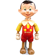 Walt Disney's Pinocchio 1939 Ideal Toys Wood Jointed Doll