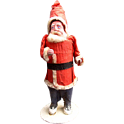 SANTA CLAUS  1930's Large Paper Mache figure from Occupied Japan
