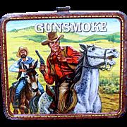 Gunsmoke TV Show 1972 Metal Lunchbox