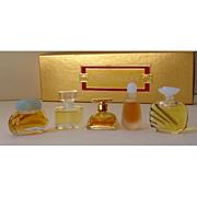 5 Miniature Estee Lauder Perfumes In Original Box