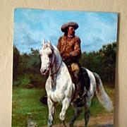 Jumbo Vintage Postcard Buffalo Bill