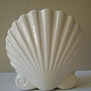 Lovely Ceramic Sea Shell Vase