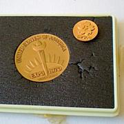 World's Fair Commemorative Medallion Set Osaka Japan 1970