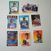 (10) Major League Baseball Rookie Cards 1986-1991