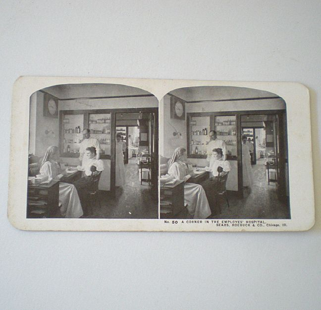 Early 1900 39 S Stereoview Card Sears Roebuck From Californiagirls On Ruby Lane