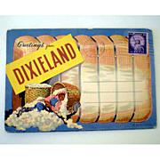 Black Americana 1937 Souvenir Picture Folder