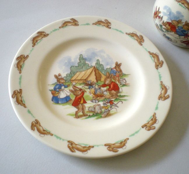 Royal Doulton Bunnykins China Child S Set Cup And Plate