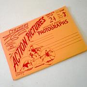 1940s-50s Vintage Stryker's Real Photo Rodeo Folder