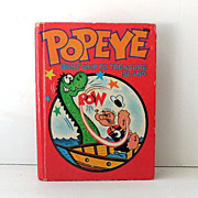1967 Popeye Big Little Book Illustrated