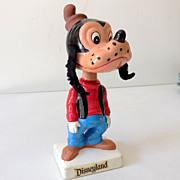 SOLD 1960s Disneyland Goofy Bobble Head Nodder