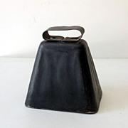 Primitive Metal Cow Bell