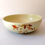 Hall Jewel T Autumn Leaf  Serving Bowl 9 Inch