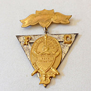 SALE 1874 Knights of Pythias SS.Davis Supreme Lodge