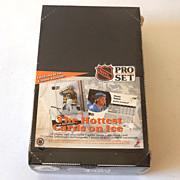 1991 Proset Pro Set Sealed Box Hockey Cards