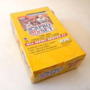 1990 Pro Set Sealed Box NFL Trading Cards Series II