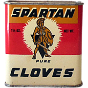 1950s Spartan Spice Tin Pure Cloves