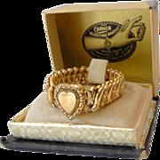 SALE Early 1900s Carmen Adjustable Bracelet In Original Box