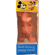 Vintage Disney Mickey Mouse Soap In Original Box