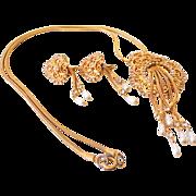 Gorgeous Vintage Necklace & Earrings Set
