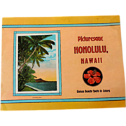1930s Hawaiian Souvenir Picture Book