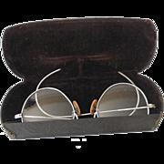 Child Size Eyeglasses Spectacles In Original Case