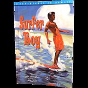 """Surfer Boy"" Soft Cover Illustrated Hawaiian Book"