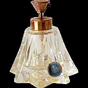 Vintage Irice Perfume Bottle With Pump Top