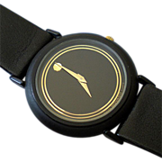 Vintage 1980s Movado Ultra Thin Museum Watch